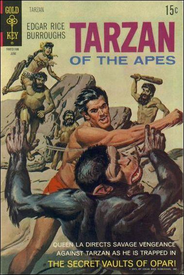 Tarzan (1962) 200-A by Gold Key