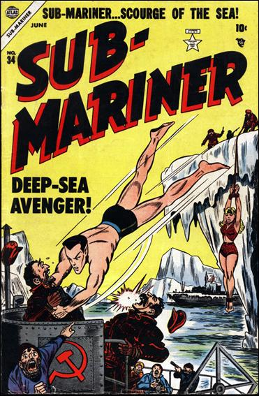 Sub-Mariner (1941) 34-A by Atlas
