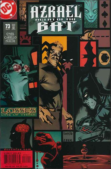 Azrael (1995) 73-A by DC