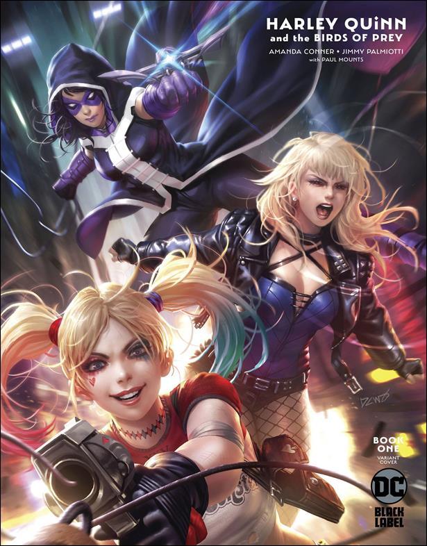Harley Quinn & The Birds of Prey 1-B by DC Black Label