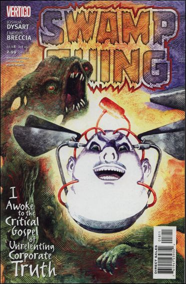 Swamp Thing (2004) 18-A by Vertigo