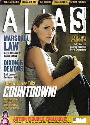 Alias: The Official Magazine 4-B