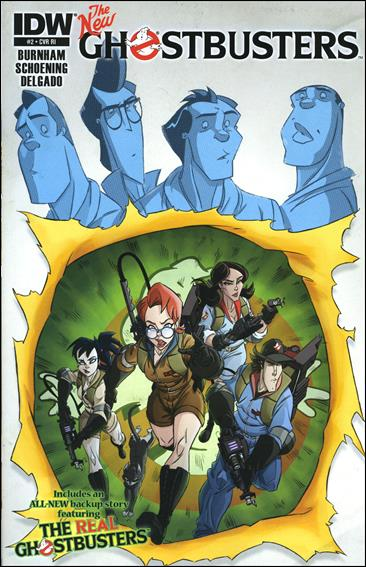 Ghostbusters (2013) 2-B by IDW