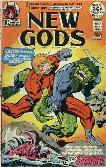 New Gods (1971) 5-A by DC