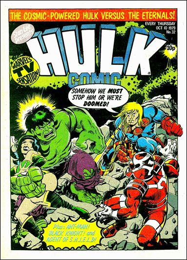 Hulk Comic (UK) 32-A by Marvel UK
