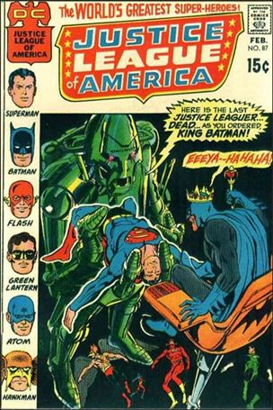 Justice League of America (1960) 87-A
