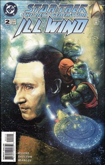Star Trek: The Next Generation—Ill Wind 2-A by DC