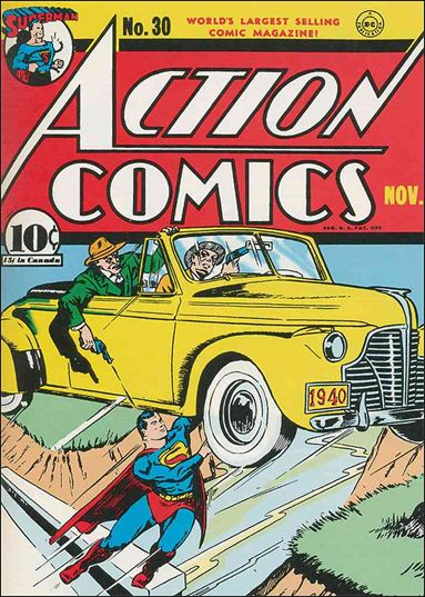 Action Comics (1938) 30-A by DC