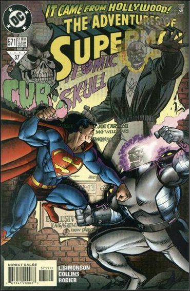 Adventures of Superman (1987) 571-A by DC