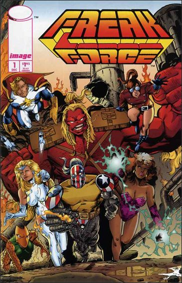 Freak Force (1993) 1-A by Image