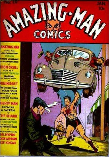 Amazing Man Comics 19-A by Centaur Publications Inc.