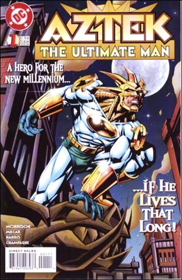 Aztek: The Ultimate Man 1-A by DC