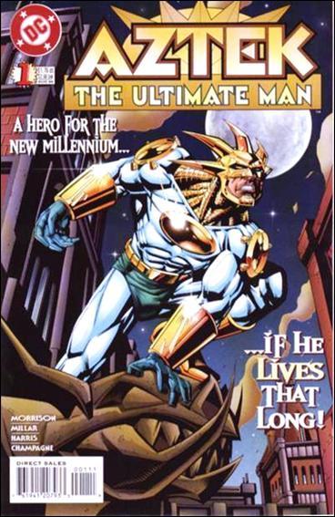 Aztek: The Ultimate Man 1-A by DC