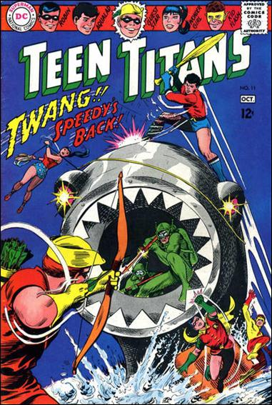 Teen Titans (1966) 11-A by DC