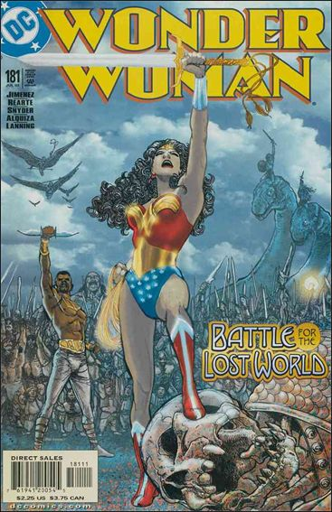 Wonder Woman (1987) 181-A by DC