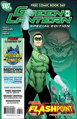 FCBD 2011 Green Lantern Flashpoint Special Edition 1-S