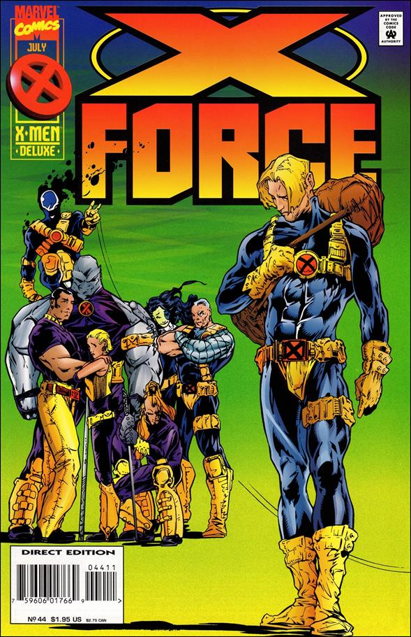 X-Force (1991) 44-A by Marvel