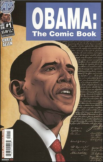 Obama: The Comic Book 1-A by Antarctic Press