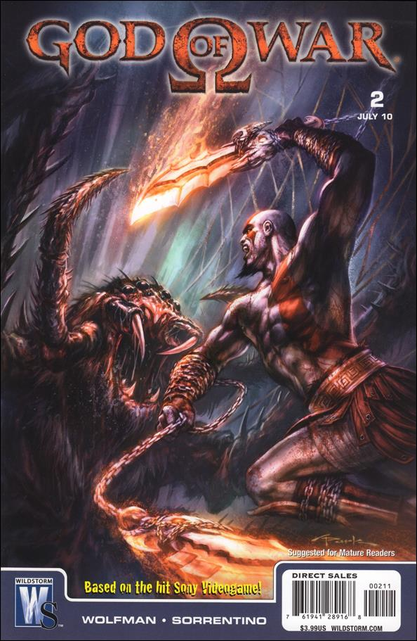 God of War 2-A by WildStorm