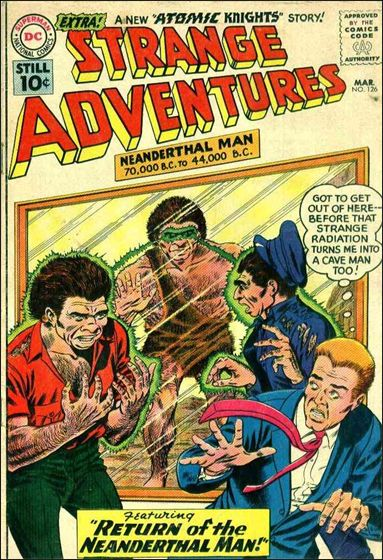 Strange Adventures (1950) 126-A by DC