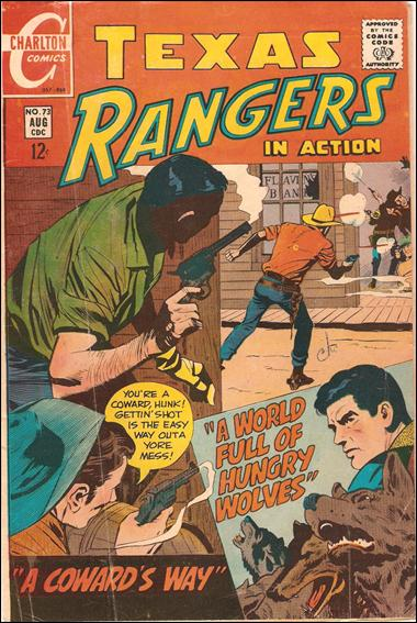 Texas Rangers in Action 73-A by Charlton