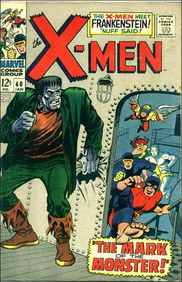 X-Men (1963) 40-A by Marvel
