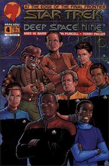 Star Trek: Deep Space Nine (1993) 4-A by Malibu