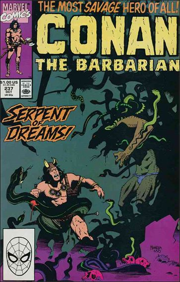 Conan the Barbarian (1970) 237-A by Marvel