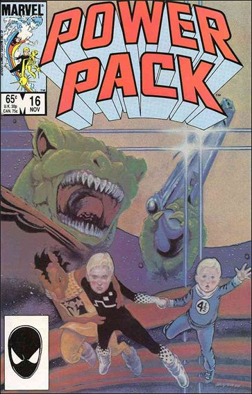 Power Pack (1984) 16-A by Marvel