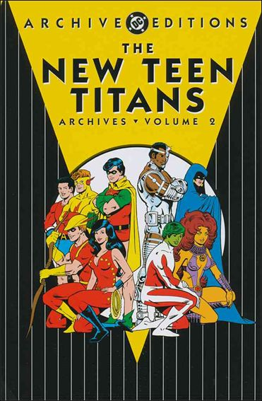 New Teen Titans Archives 2-A by DC
