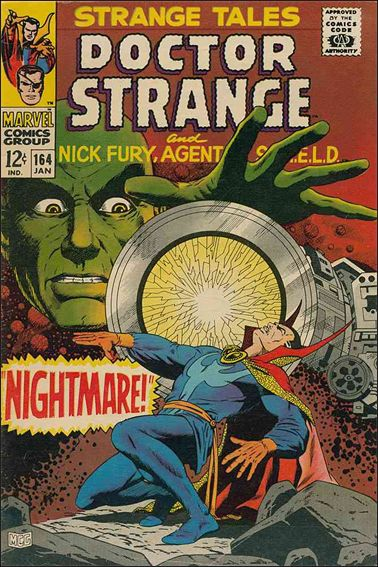 Strange Tales (1951) 164-A by Marvel