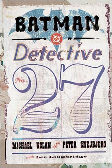 Batman: Detective #27 nn-A by DC