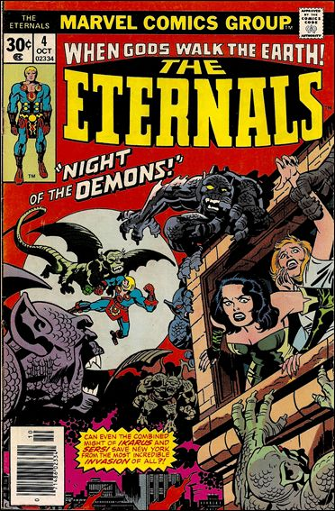 Eternals (1976) 4-A by Marvel