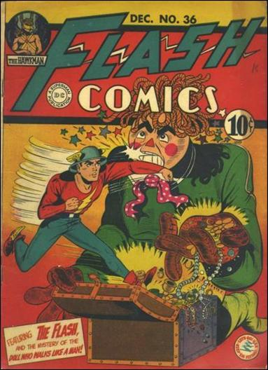 Flash Comics (1939) 36-A by DC