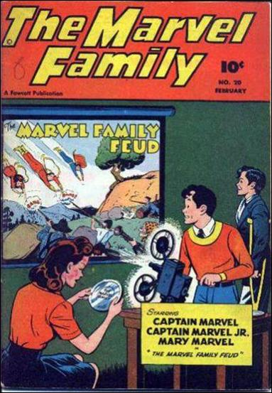 Marvel Family 20-A by Fawcett
