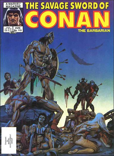 Savage Sword of Conan (1974) 115-A by Marvel