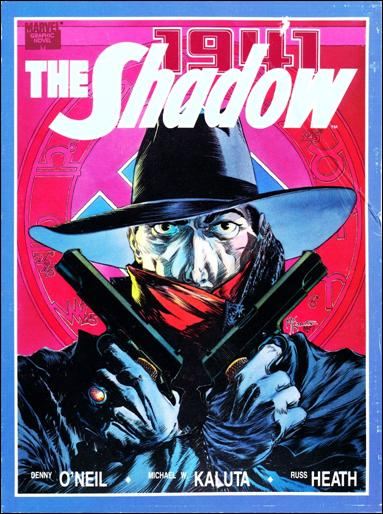 Marvel Graphic Novel: The Shadow 1-A by Marvel