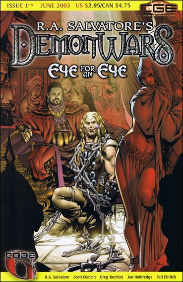 R.A. Salvatore's DemonWars: Eye for an Eye 1-A by CrossGen