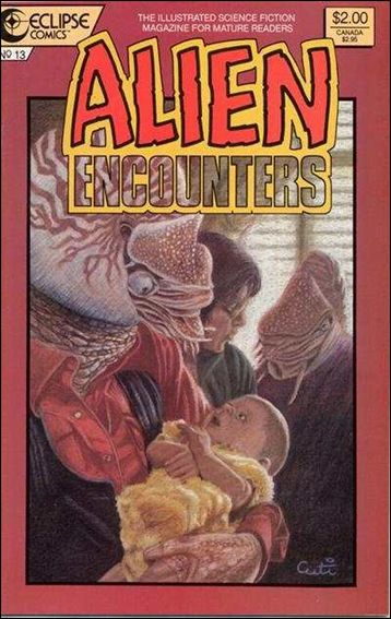 Alien Encounters (1985) 13-A by Eclipse