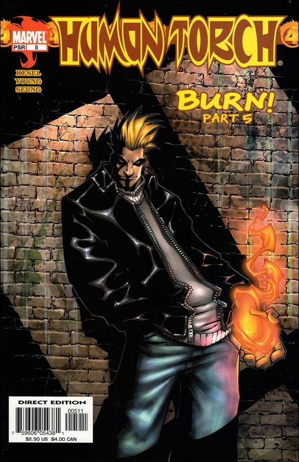 Human Torch (2003) 5-A by Marvel