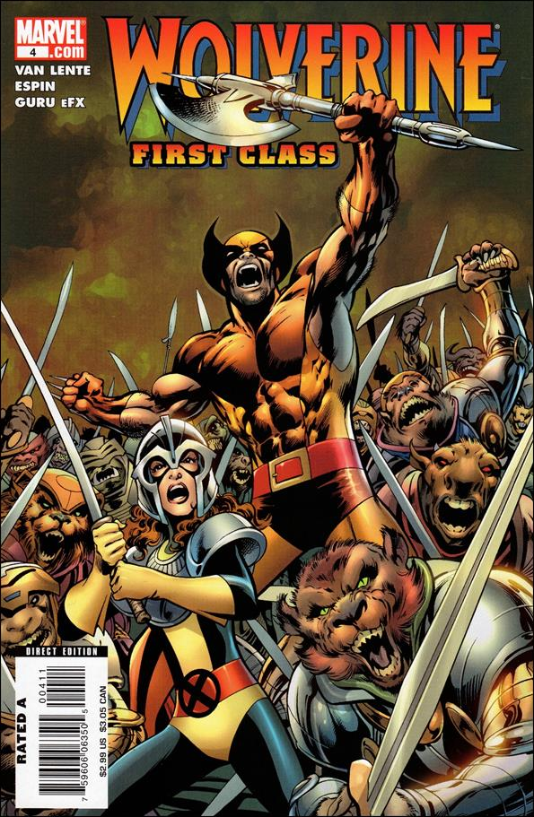 Wolverine: First Class 4-A by Marvel