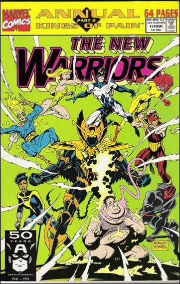 New Warriors Annual 1-A by Marvel