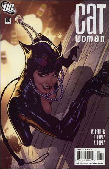 Catwoman (2002) 80-A by DC
