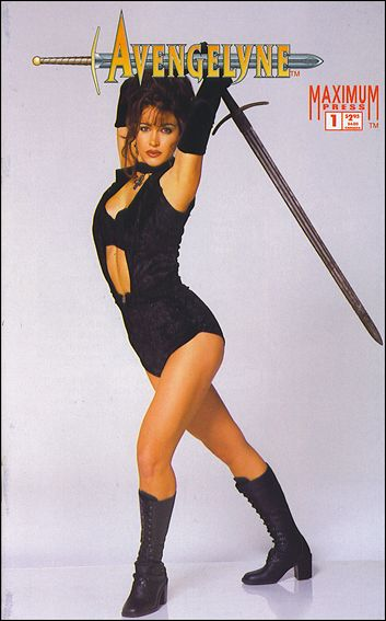 Avengelyne (1996) 1-A by Maximum Press
