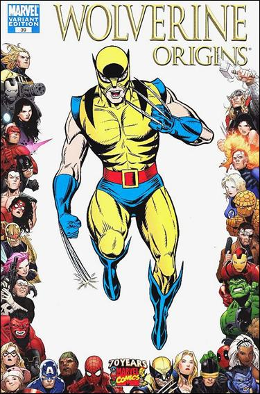 Wolverine: Origins 39-B by Marvel