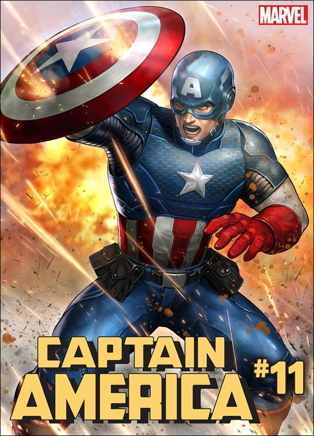 Captain America (2018) 11-B by Marvel