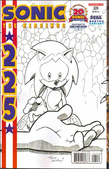 Sonic the Hedgehog (1993) 225-B by Archie