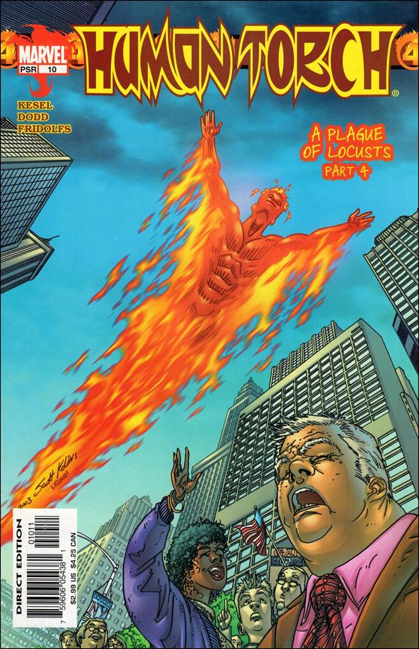 Human Torch (2003) 10-A by Marvel