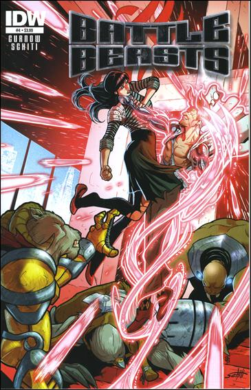 Battle Beasts (2012) 4-A by IDW