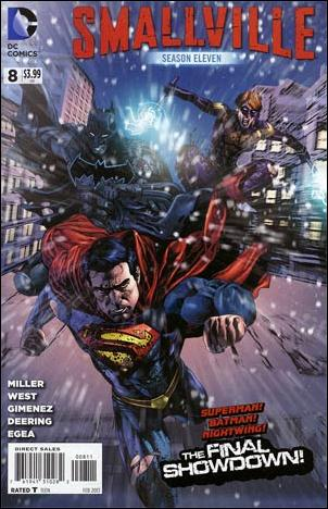 Smallville Season 11 8-A by DC